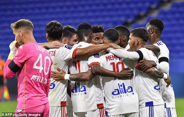 Lyon 4:1 Monaco