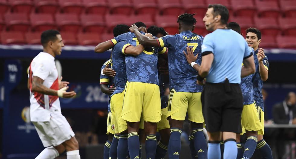 Kolumbiya 3:2 Peru
