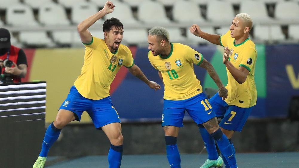 Paqueta, Neymar & Richarlison