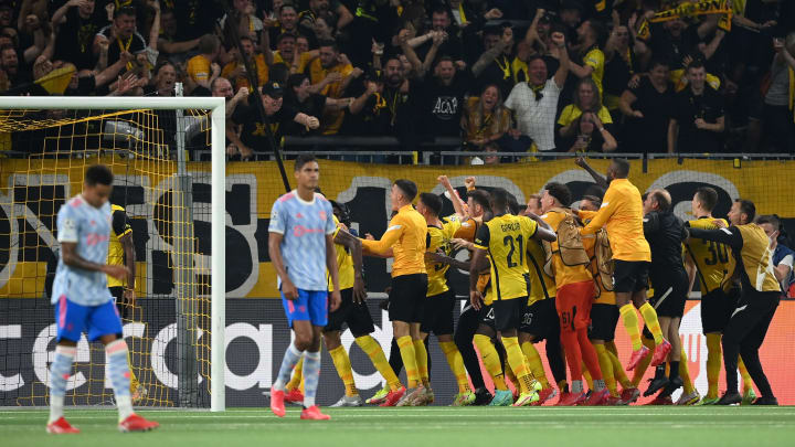 Young Boys 2:1 Manchester United