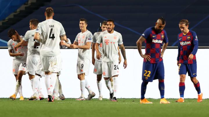 Barcelona 2:8 Bayern