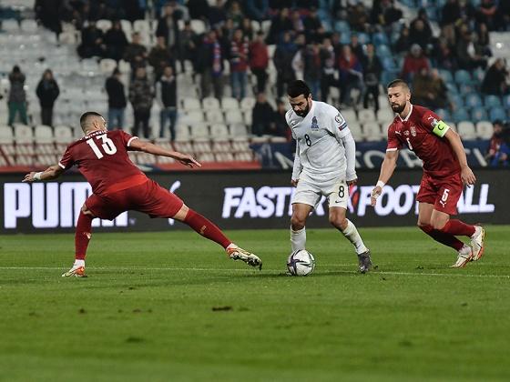 Serbiya 3:1 Azərbaycan