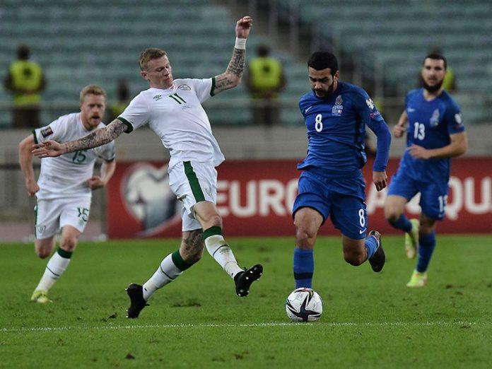 Azərbaycan 0:3 İrlandiya